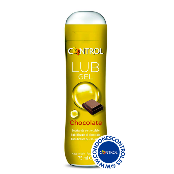 Gel lubricante de chocolate 75 ml - Condones Control