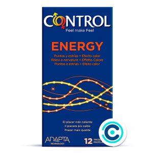 control energy condones estrias