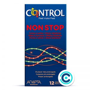 control non stop condones estrias