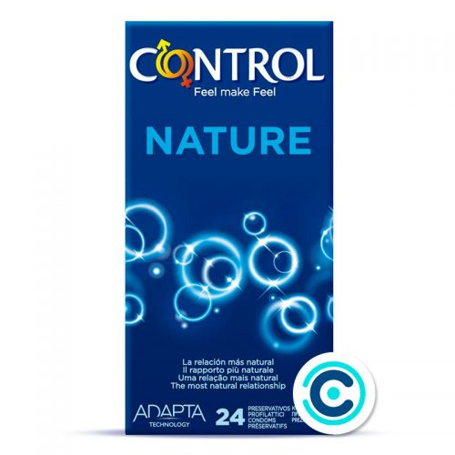 preservativo control nature 24