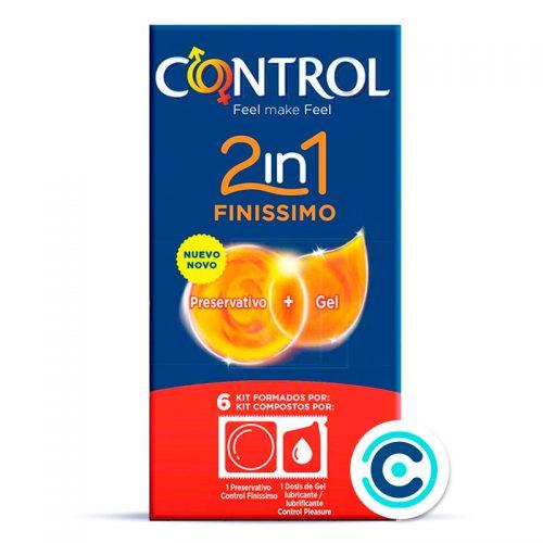 control 2in1 finissimo condones