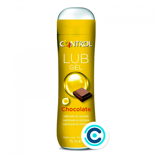 gel lubricante de chocolate lubricantes control