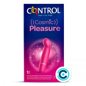 mini vibrador cosmic pleasure control