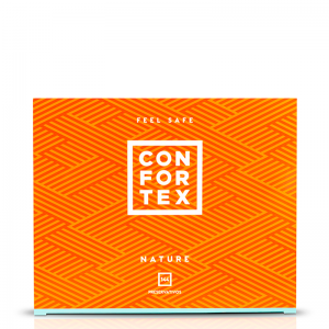 confortex nature 144 comprar condones
